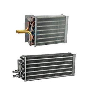 Evaporator, heater, condenser coils