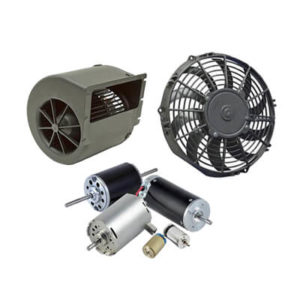 Fans, Blowers, DC Motors