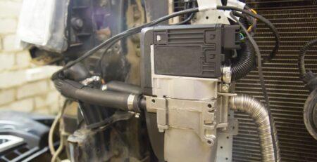 Diesel fired heater